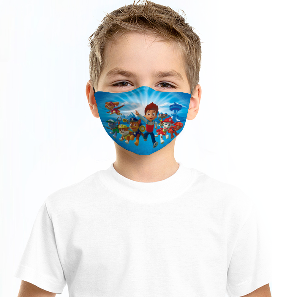 paw patrol kids face mask 2